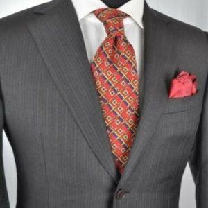 ZEGNA Modern 2Btn Suit 38 R + Brooks Brothers Tie